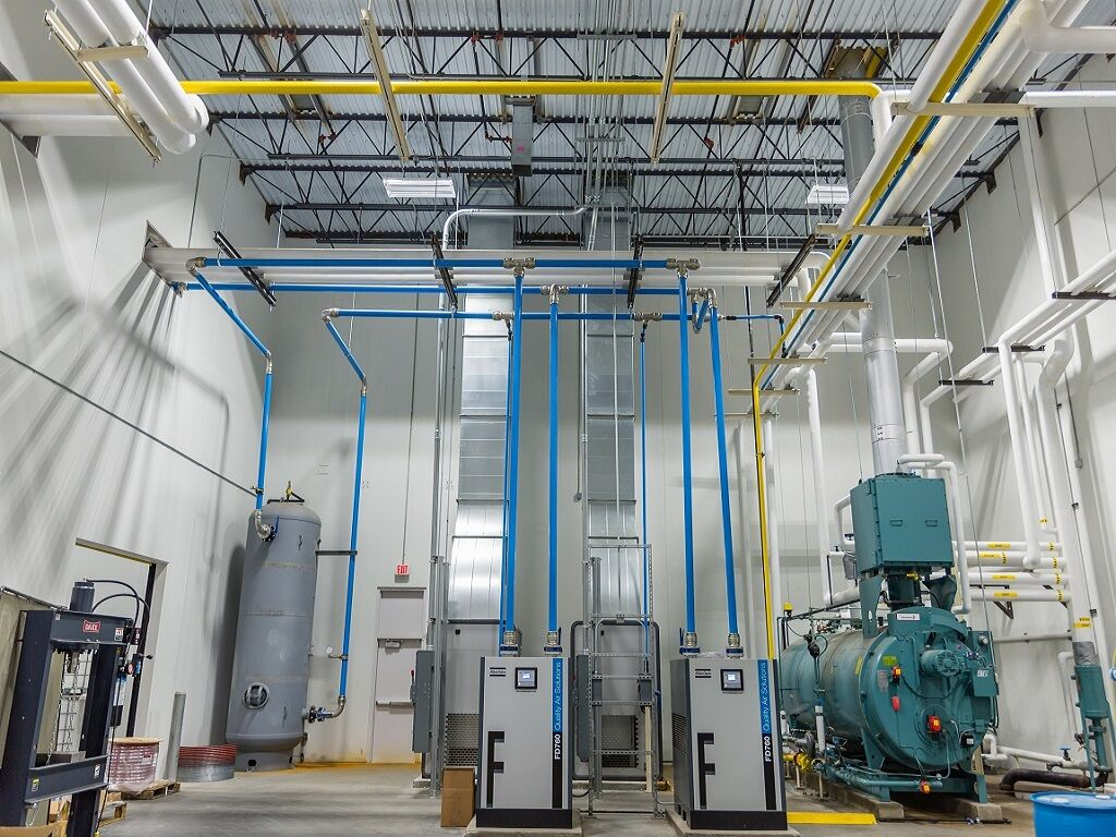 Mechanical Room Design, Piping Design, Utility System Design, Piping Stress Analysis, Prince Engineering, Greenville South Carolina